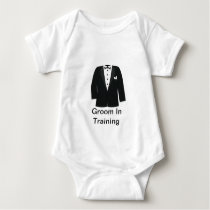 GIFTS FOR GROOM'S OR BLACK TIE EVENTS BABY BODYSUIT