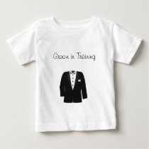 GIFTS FOR GROOM'S OR BLACK TIE EVENTS BABY T-Shirt