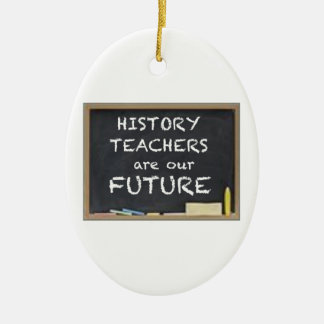 GIFTS FOR HISTORY TEACHERS CHRISTMAS TREE ORNAMENT