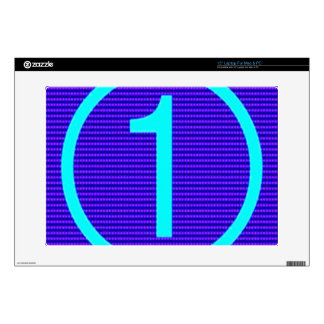 """Gifts for Leaders Winners Topper Champions KIDS 99 15"""" Laptop Skin"""