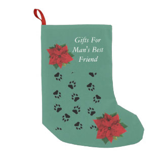 Gifts For Man's Best Friend Small Christmas Stocking