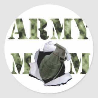 Gifts for many different kinds of moms round sticker