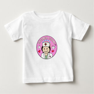 Gifts for Nurse Take care of me Brown and Rosa Baby T-Shirt