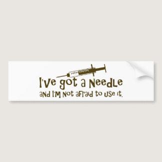 Gifts for Nurses & Diabetics Bumper Sticker