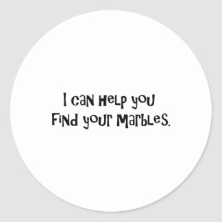Gifts for Psychiatrists Classic Round Sticker