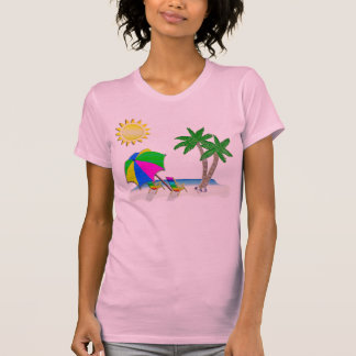 Gifts for Snowbirds, Beach T Shirts for Women