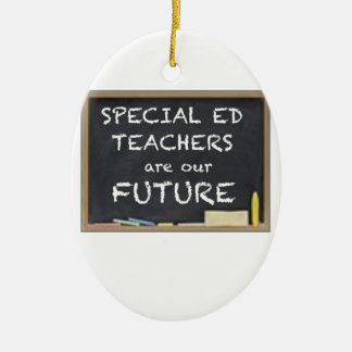 GIFTS FOR SPECIAL ED TEACHERS CERAMIC ORNAMENT