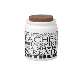 Gifts for Teachers Candy Dishes