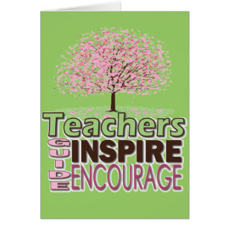 Gifts for Teachers Greeting Card