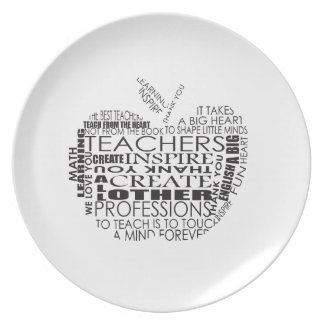 Gifts for Teachers Party Plate