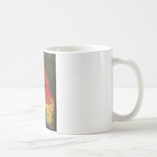 Gifts for the Parrot lover. Scarlet Macaw Coffee Mug