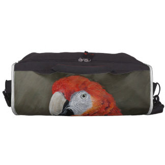 Gifts for the Parrot lover. Scarlet Macaw Commuter Bags