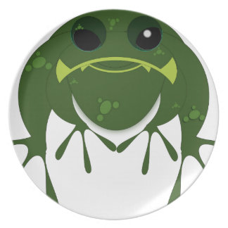 Gifts Frog Dinner Plates