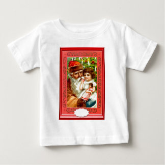 Gifts from Santa for a little girl Baby T-Shirt
