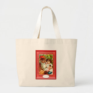 Gifts from Santa for a little girl Tote Bags
