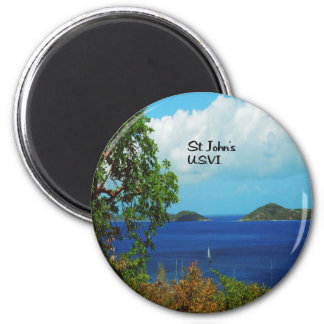 Gifts from the Caribbean 2 Inch Round Magnet