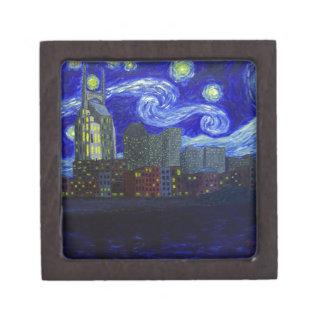 "Gifts: ""Nashville Starry Night"" by Jack Lepper Gift Box"