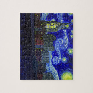 """Gifts: """"Nashville Starry Night"""" by Jack Lepper Jigsaw Puzzle"""