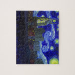 "Gifts: ""Nashville Starry Night"" by Jack Lepper Jigsaw Puzzles"