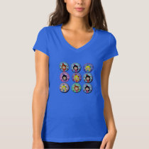 Gifts of I am Very Flamenco Multicoloured… T-shirt