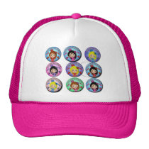 Gifts of I am Very Flamenco Multicoloured… Trucker Hat
