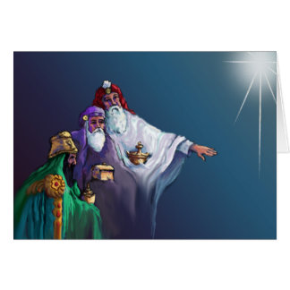 GIFTS of the MAGI by SHARON SHARPE Greeting Card
