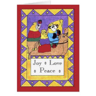 Gifts of the Magi - Joy, Love, Peace Card