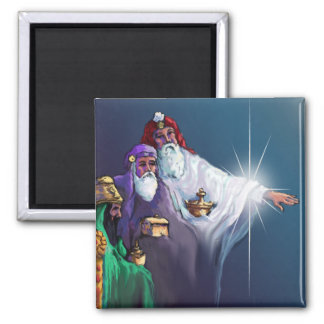 GIFTS of the MAGI & STAR by SHARON SHARPE 2 Inch Square Magnet