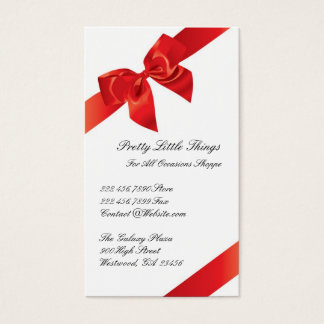 Gifts Shop Business Card