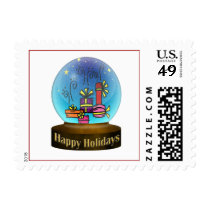 gifts Snowsglobe Postage