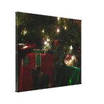Gifts Under the Tree Christmas Holiday Presents Canvas Print