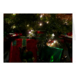 Gifts Under the Tree Christmas Holiday Presents Card