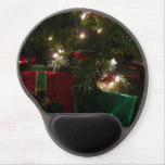 Gifts Under the Tree Christmas Holiday Presents Gel Mouse Pad