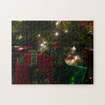 Gifts Under the Tree Christmas Holiday Presents Jigsaw Puzzle