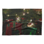 Gifts Under the Tree Christmas Holiday Presents Kitchen Towel