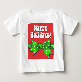 Giftwrap Happy Holidays Baby T-Shirt