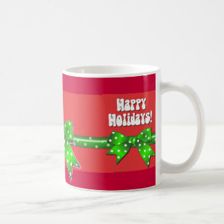 Giftwrap Happy Holidays Coffee Mug