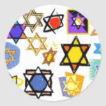 GIFTWRAPPING HANUKKAH STICKERS SHEETS OF 20 OR 6