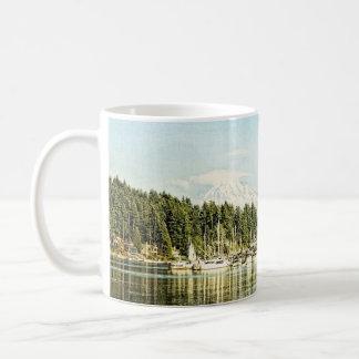 Gig Harbor Classic White Coffee Mug
