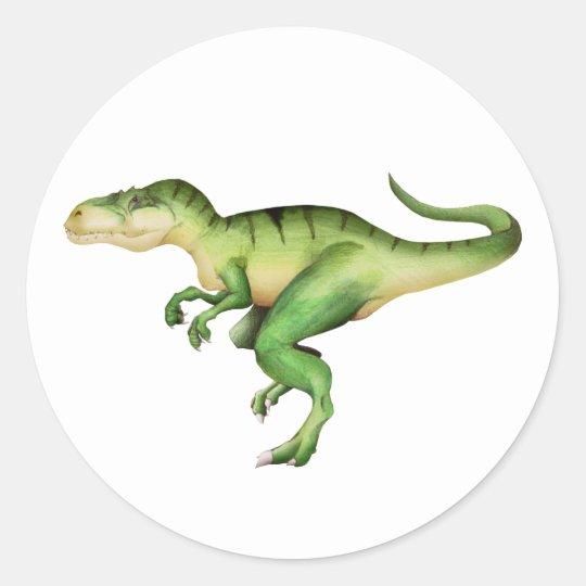 Giganotosaurus Carolinii Classic Round Sticker