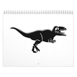 Giganotosaurus dinosaur calendar