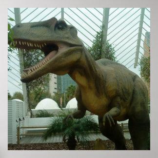 Giganotosaurus Dinosaur Poster