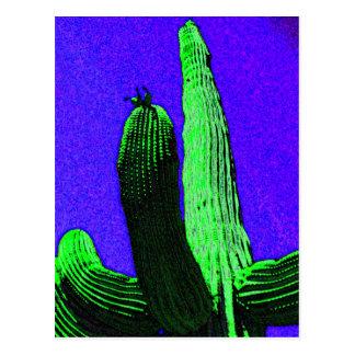Gigante del desierto tarjetas postales