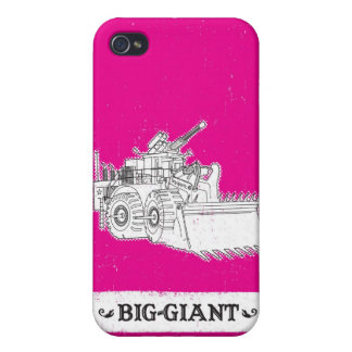 Gigante grande 2 iPhone 4/4S carcasa