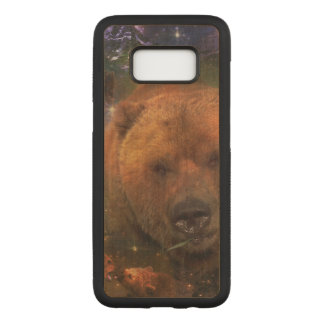 Gigantic Bear with Cubs Carved Samsung Galaxy S8 Case