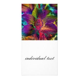 gigantic tropical blooms (C) Photo Card