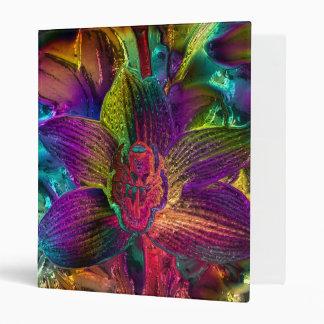 gigantic tropical blooms (C) Vinyl Binder