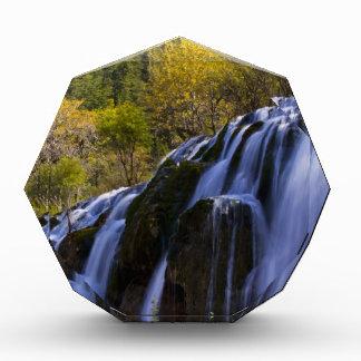 Gigantic Waterfall in a China Jiuzhaigou Award