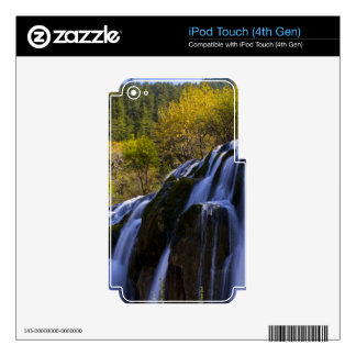 Gigantic Waterfall in a China Jiuzhaigou Decals For iPod Touch 4G