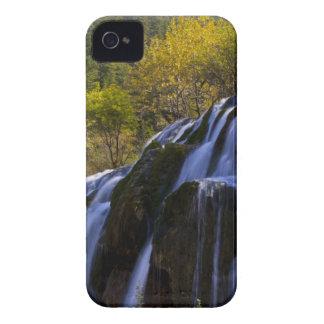 Gigantic Waterfall in a China Jiuzhaigou iPhone 4 Case-Mate Case